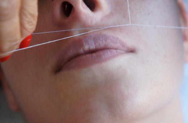 Benefícios da depilação com linha