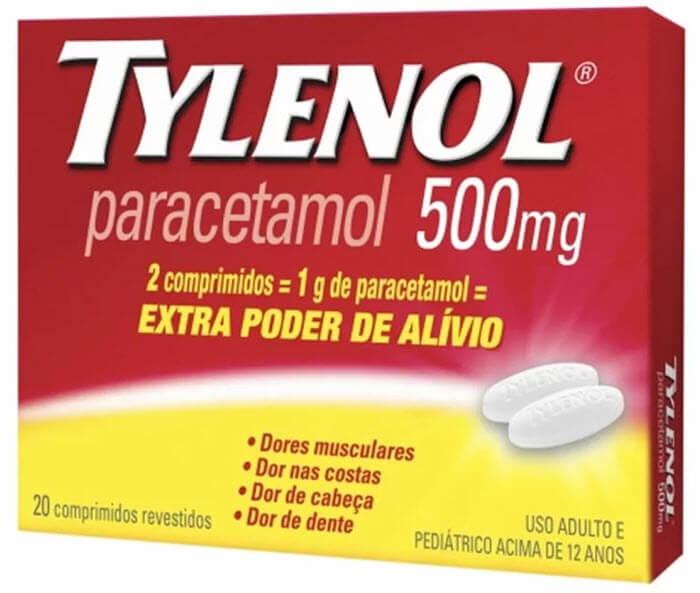 Efeitos colaterais do Paracetamol