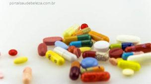 Várias remédios pílulas diferentes