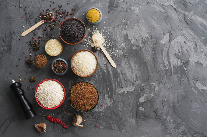 Benefícios do arroz branco para a saúde