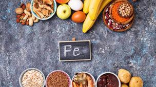 Anemia na gravidez, alimentos ricos em ferro