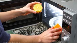 Como limpar micro-ondas, cuidados contra bactérias
