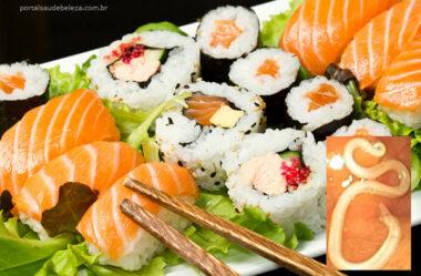 Parasitas que podem contaminar os alimentos