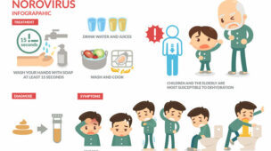 Vírus que podem contaminar os alimentos, norovírus, rotavírus, hepatite
