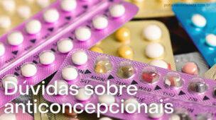 Dúvidas sobre anticoncepcionais