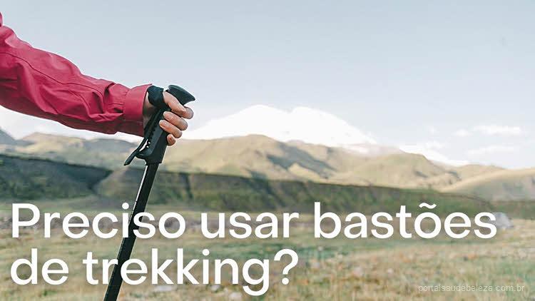 Preciso usar bastões de trekking?